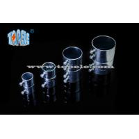 Quality Steel EMT Conduit Fittings , EMT Pipe Fittings Set Screw Coupling for sale