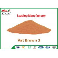 Eco Friendly Fabric Dye C I Vat Brown 3 Brown RN Dyeing Of Cotton Fabric Manufactures