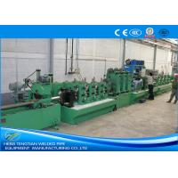 Fully Automated SS Pipe Making Machine , Welded Tube Mill High Yield 11KW Motor Manufactures