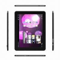 10.1-inch Tablet PC, Android 4.0 OS/RK3066 ARM Cortex-A9 Dual-core 1.5GHz CPU/Capacitive Touch Manufactures