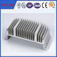 Good led extruded aluminium housing factory, OEM aluminium radiator for led Manufactures