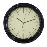Retro Wall Clock, Black (CWM0152) Manufactures