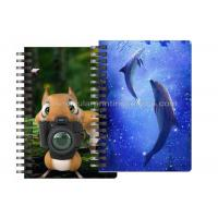 Custom Animal Design 3D Lenticular Notebook For Kids Cute Souvenir Gift Stationery Manufactures