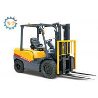 2 Ton FD20 4 Wheel Warehouse Lifting Equipment With Yellow / Red Color Manufactures