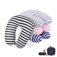 Buy cheap Custom OEM Memory Foam Neck Pillow Travel Size Memory Airplane Pillow from wholesalers
