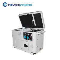 China Silent Soundproof Small Portable Generators 5kw 5kva For Home Use In White on sale