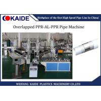 ppr al ppr Pipe Production Line 20mm-63mm, Overlapped welding PPR AL PPR Pipe making machine Manufactures