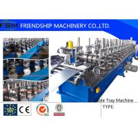 22KW Cable Tray Roll Former Machine High Speed 5 m/min - 10 m/min Manufactures