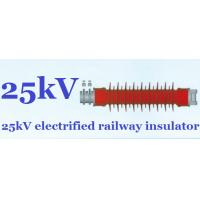 High Tension Railway Insulators Silicon Rubber Impact Resistant Manufactures