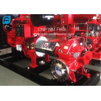 1500GPM @ 150PSI UL/FM Approval Diesel Engine Drive Fire Pump With Horizontal Centrifugal Split case Fire Pump Manufactures