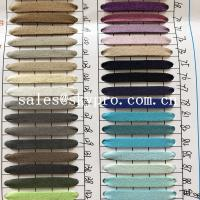 China Resistant  PU Synthetic Leather soft leather fabric materials on sale