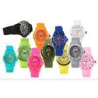 Colored Classical Big Face Watches , 43mm Quartz Watches For Men