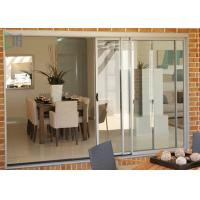 Balcony Weather Resistant Aluminium Sliding Doors Double or Three Tracks Manufactures