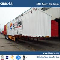 CIMC tri-axle 48ft dry van trailer 50 tons Manufactures