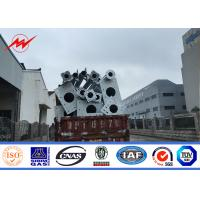 1km Range Overhead Power Transmission Poles For High Voltage Electrical Line Project Manufactures