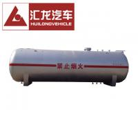 Steel Pressure Vessel Propane Tank Trailer , Lpg Transport Tank Easy Operation Manufactures