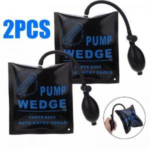 China 2pcs 170 * 150mm Locksmith Supplies Pump New Air Wedge Pump Up Bag Car Door Window Frame Fitting Install Shim Wedge Tool on sale
