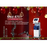 China 635nm Fractional Co2 Fractional Laser Machine , Scar Removal Machine on sale