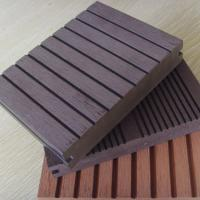 Outdoor WPC Solid Board , Wood and plastic Composite Flooring Boards Manufactures