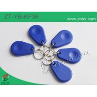 ABS key tag/keyfob/keyring,Model:ZT-YB-KF36,45.5×30×8mm Manufactures