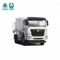 Germany Technology Cement Bulk Carrier Truck , Cement Mixer Trailer 336HP/248KW Manufactures