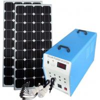 Environmental Friendly Home Solar Power System High Capacity Battery Safe High Grade Manufactures