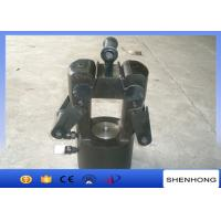 China Overhead Line Construction Tools 125T Hydraulic Crimping Head Hydraulic Compressor Double Acting on sale