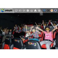 Amazing 7d Simulator Cinema With Pneumatic / Hydraulic / Electronic Systems Manufactures