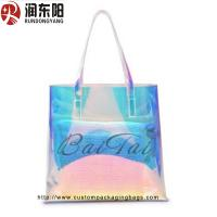 PP Plastic Food Packaging Bags Non Woven Material Women Shopping / Gift Packaging Manufactures