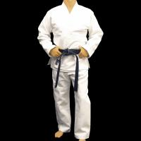 Customized bamboo fabric Judo Uniform Martial Arts Clothes , White Manufactures