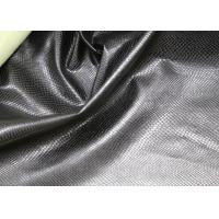 Fashion High Grade PU Leather Fabric For Handbags No Fading Hydrolysis Resistance Manufactures