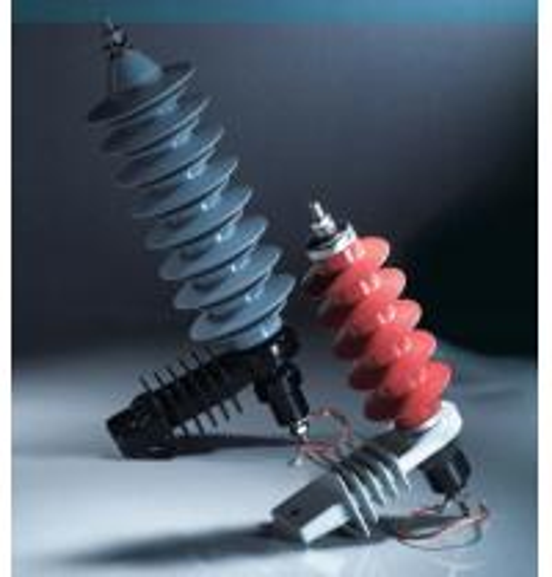 Quality 5KA Zinc Oxide Distribution Surge Arrester grapless polymeric MOA for sale
