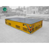 30 ton Battery Powered Trackless Motorized Transfer Cart Transport Carriage With Pendent Operated Manufactures