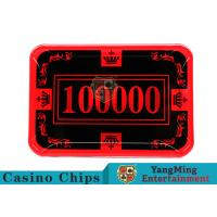 Quality 12g Colorful Casino Quality Poker Chips With Crown Screen Convenient To Carry for sale