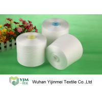 Bright Ring Spun Polyester Yarn On Plastic / Paper Cone With 100% Virgin PES Fiber Manufactures