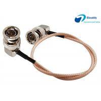 Lanparte HD SDI Video Cable BNC Male Right to BNC Right Angle Plug Pigtail Coaxial Cable RG179 Manufactures