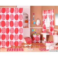 China SHOWER CURTAIN, PEVA CURTAIN, POLYSTER CURTAIN, PVC CURTAIN, ANTI-SLIP MAT FILM, PEVA SHELF LINER, DRAWER MAT, FABRIC SH on sale