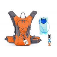 Professional Water Drinking Backpack , Waterproof Hydration Backpack With Two Liter Reservoir Manufactures