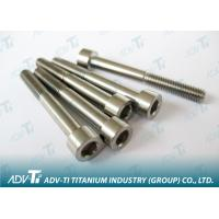 High Strength Titanium Fastener with unalloy titanium & Alloy titanium Manufactures
