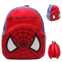 Cartoon Spiderman Kids School Backpacks Personalized Soft Plush Manufactures