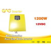 Off grid high power dc 12v 24v to ac 220v pure sine wave inverter charger 1200w Manufactures