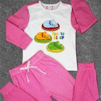 Cute Newborn Baby Clothes Set Printed Cotton Toddler Boys Clothing Manufactures