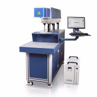 CO2 Galvo Laser Marking And Engraving Machine , Hide Diode Laser Marking Machine Manufactures
