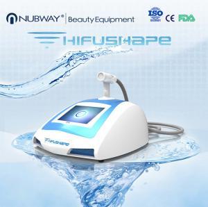 salon use ultrasonic machine for body shape/portable HIFUSHAPE body slimming machine Manufactures