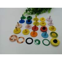 Custom Shape TPU Material Animal Ear Tags For Cattle/ Sheep Manufactures