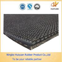 width 1200mm EP400/3 Rough Top Rubber Conveyor Belt used in airport Manufactures