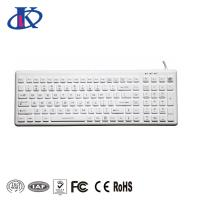 IP68 Washable Medical Sealed Keyboard USB Interface With ON/OFF Backlight Button Manufactures