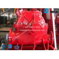 Single Stage Double Suction Centrifugal Fire Pump 288 Feet With Water Cooling Method Manufactures