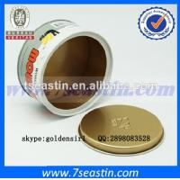 China delicate competitive price car wax tin can & oil paint tin container manufacturer on sale