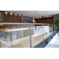 hot sale project building balcony steel glass railing systems